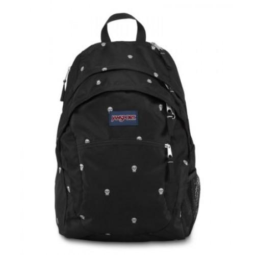 JanSport Wasabi Backpack,Black Pop Skulls